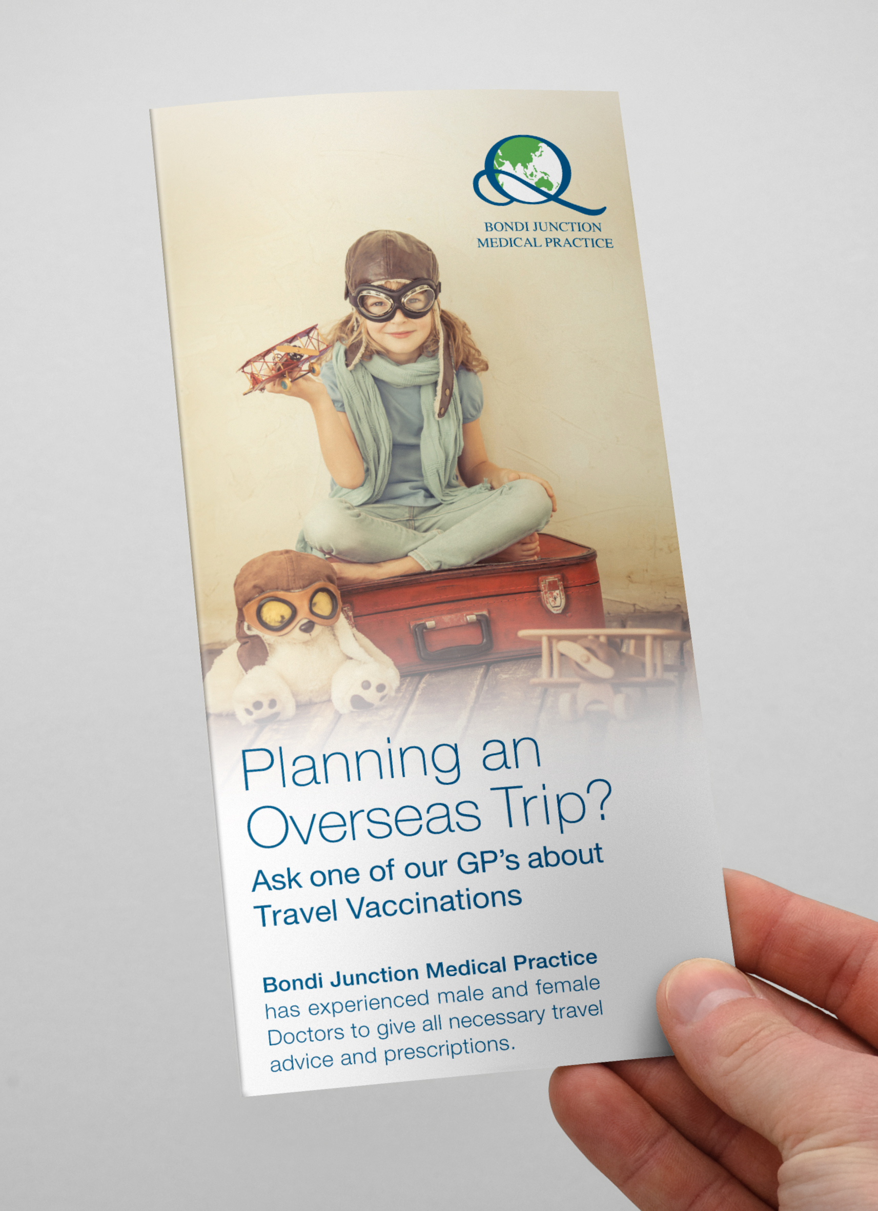 Bondi Junction Medical Travel Flyer